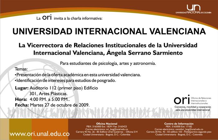 Movilidad internacional para maestr as unimedios for Oficina nacional de fiscalidad internacional