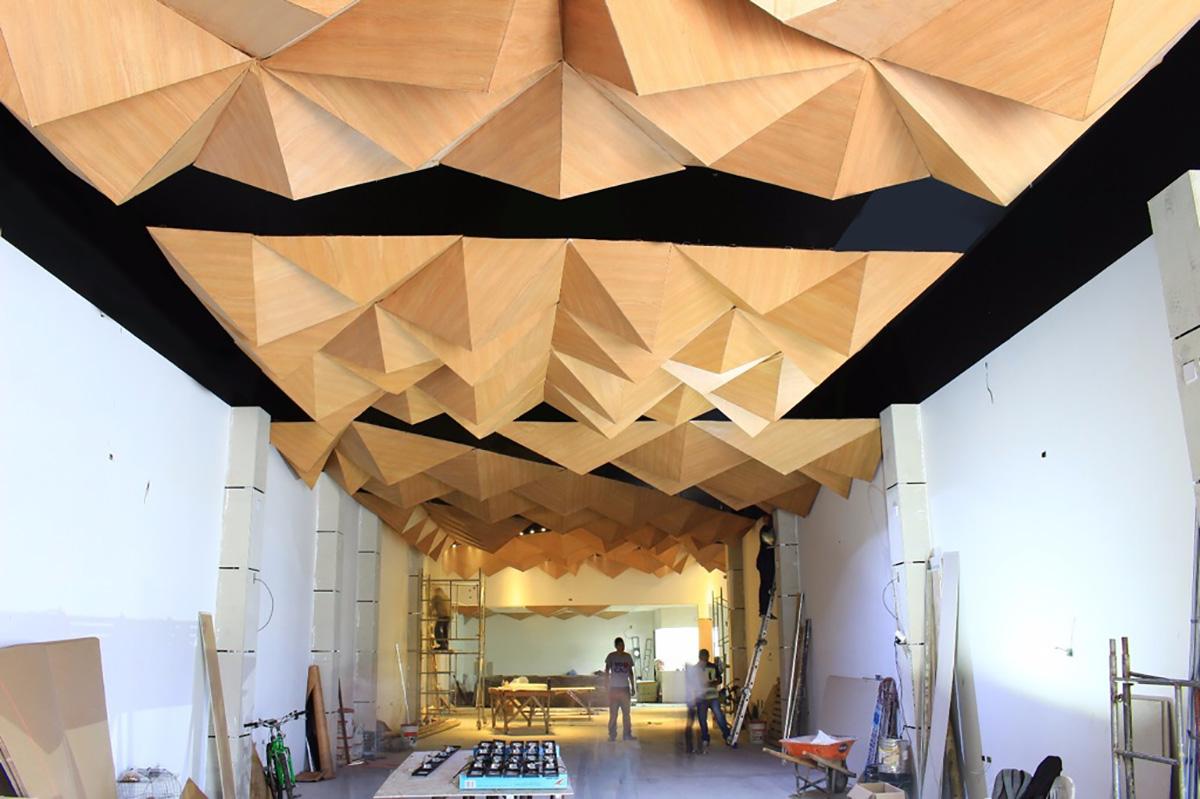 Dise an techo fara nico econ mico y liviano unimedios for Techos con formas