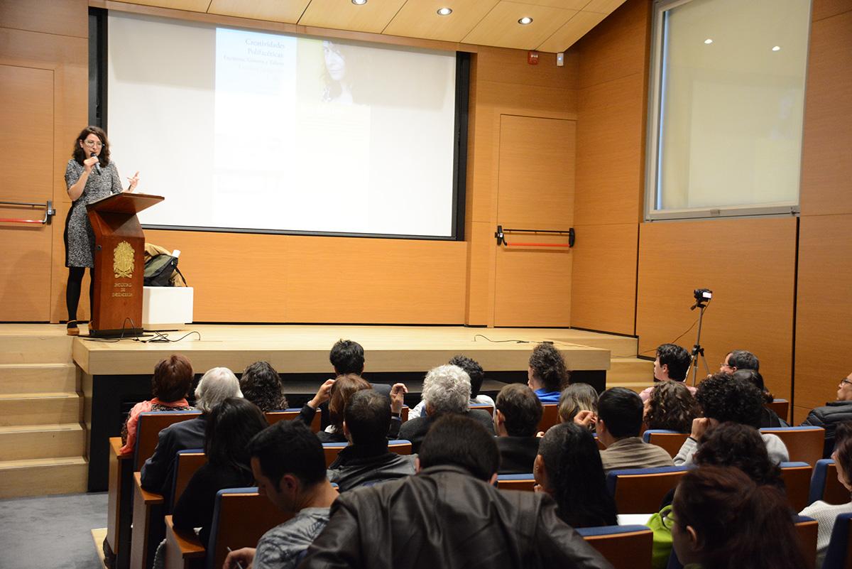 Con la charla se dio inicio al primer semestre de la Maestría en Escrituras Creativas de la U.N. - Fotos: Ricardo González