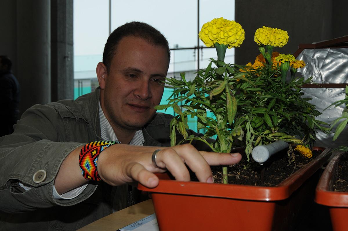 Sistema autom tico riega plantas ornamentales en viveros for Viveros en colombia