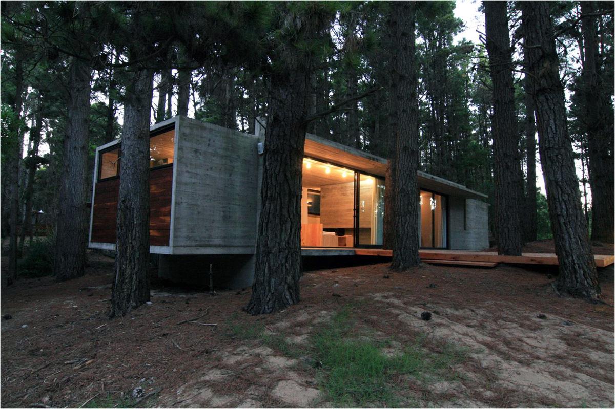 Arquitectura mimetizada con lo natural para vivir el - Ambientador natural para casa ...